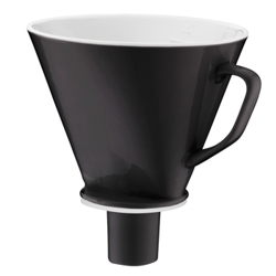 kaufen Kaffeefilter alfi aroma plus Porzellan, schwarz