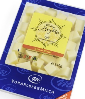 """kaufen Käse """"Vorarlberger Bergkäse in Würfel - in der wiederverschließbaren Frischebox"""""""