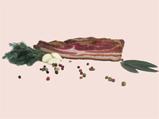 kaufen Knoblaufspeck aus Schweinefleisch