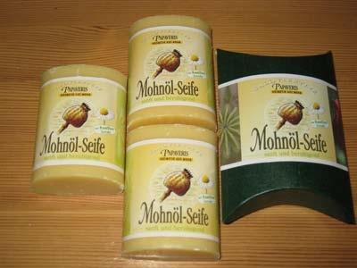 kaufen Kamille - Mohnölseife im Geschenkkarton