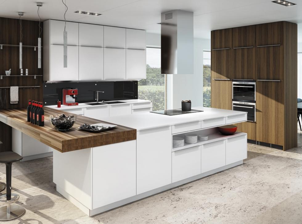 Küche Ultima/strato arktis / nuss in Wels verkaufen