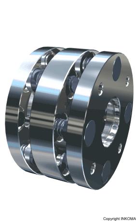 kaufen Inkoflex-Kupplung Drehmomentübertragung mit flexiblem Ausgleich von Versatz und Beugung