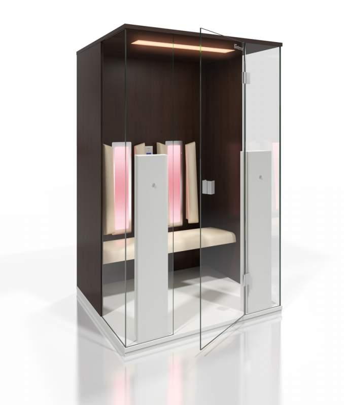 infrarotkabine modell select line 2 in gerasdorf bei wien. Black Bedroom Furniture Sets. Home Design Ideas