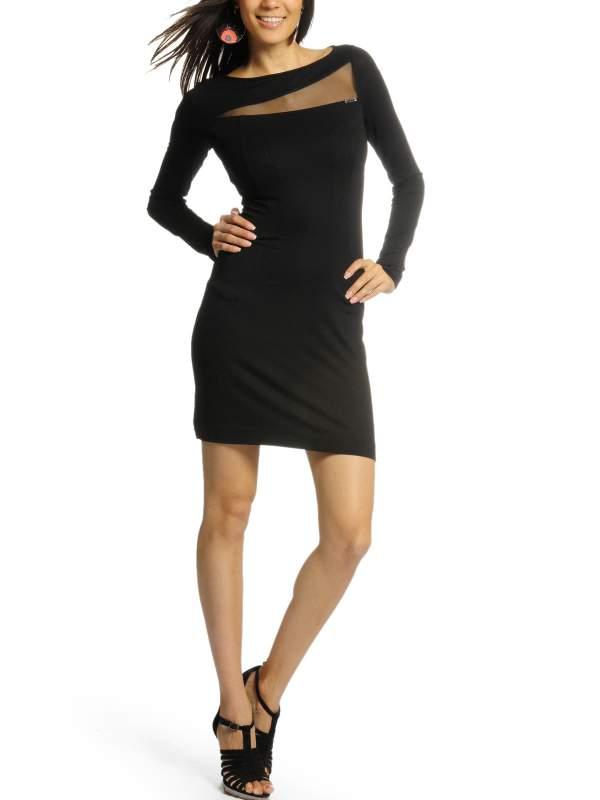 kaufen Kleid schwarz 1704
