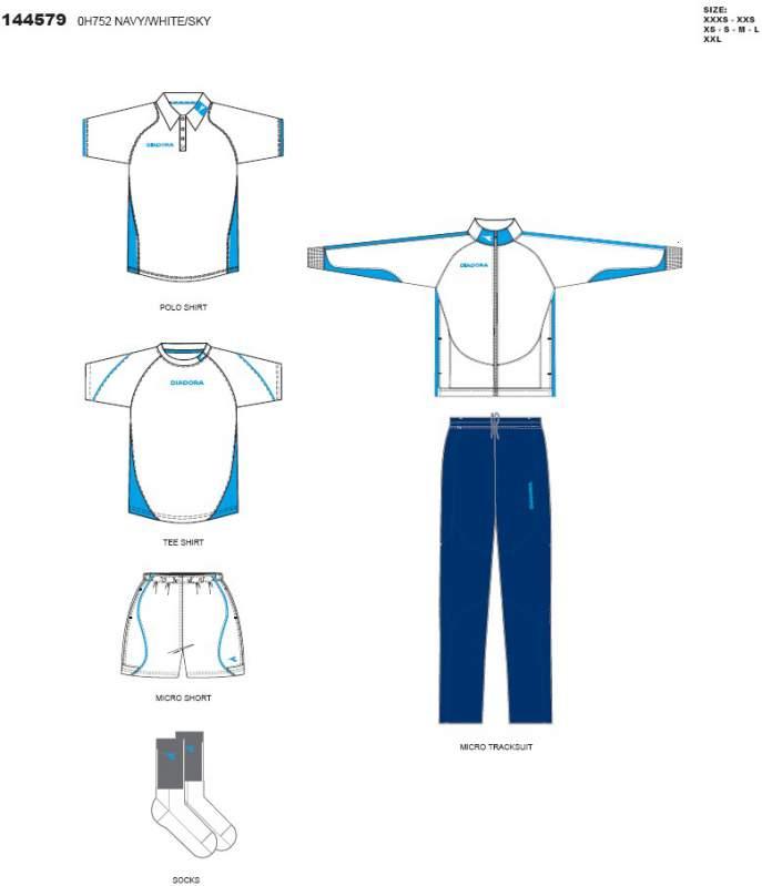 kaufen Bekleidung Diadora Tennis KIT