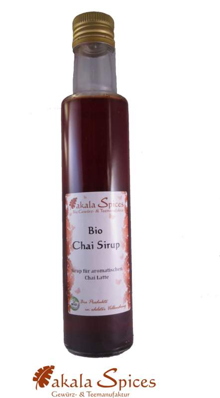 Bio Chai-Sirup, 250ml