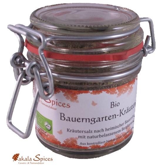 kaufen Bio Bauerngarten-Kräutersalz, Drahtbügelglas 50g