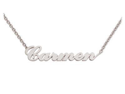kaufen Namenskette, Silber 925