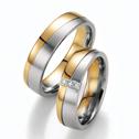 kaufen Ehering Weißgold Gelbgold Diamant