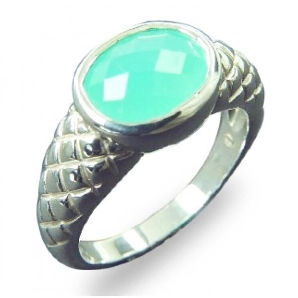 kaufen Ring Chrysopras