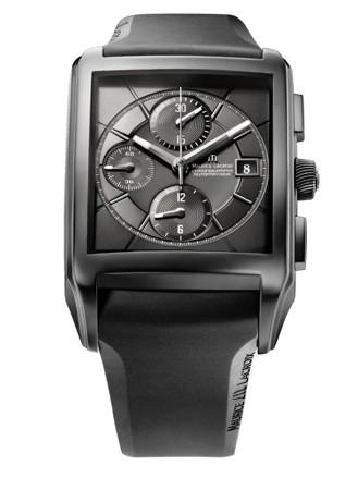 kaufen Uhren Pontos Rectangulaire Chronographe Full Black