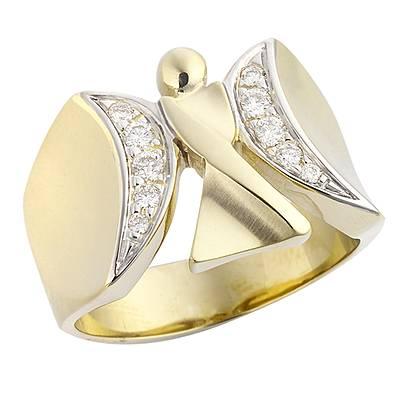 kaufen Engelring Lichtengel mit Brillanten