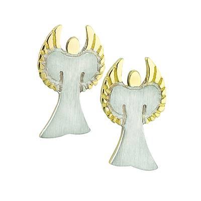 kaufen Ohrstecker Golden Angel