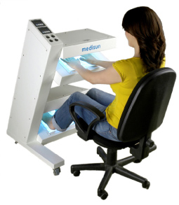 kaufen Medisun HF-216 UV-Hand-Fuss-System Variables Modulsystem mit bis zu 4 Feldern