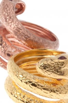 kaufen Ring Rubin Sterling Silber vergoldet