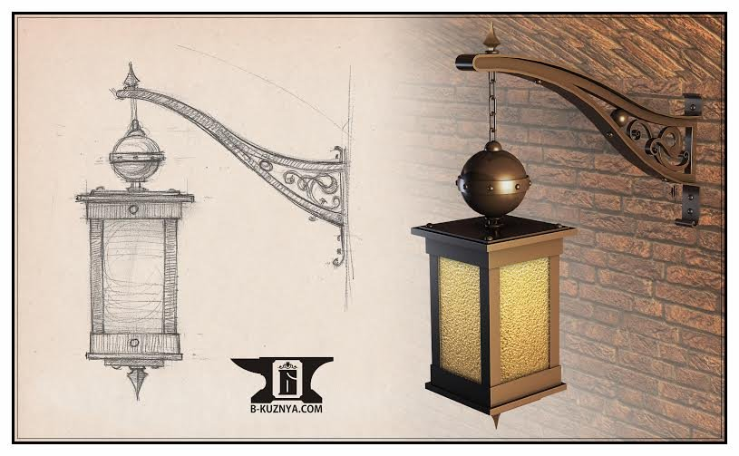 kaufen Geschmiedet Lampe