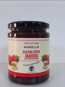 Buy Strawberry jam by adding white chocolate (100% natural)