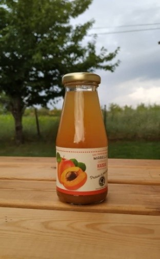 شراء عصير المشمش وعصير التفاح (نقية 100٪