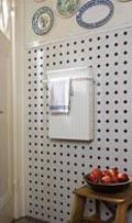 Wibo Heizung mit Handtuchhalter - Ideal für Bad, Küche und ...