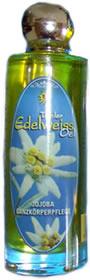 kaufen Jojoba-Öl mit den pflanzlichen Heilstoffen des Edelweiss.