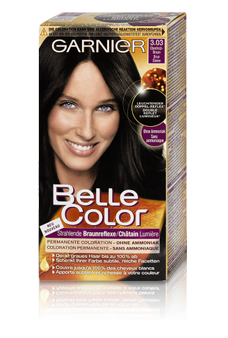 Haarfarben Garnier Belle Color Braun