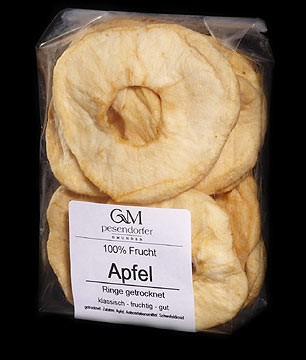 kaufen Trockenfrüchten Apfel Ringe