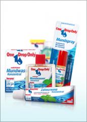 Mund- und Zahnpflegeprodukte von One Drop Only®