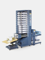 Zusammentragmaschine Saugluftturm BST10d