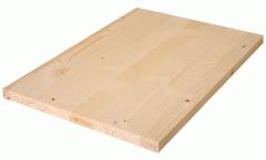 Einschicht-Nadelholzplatte