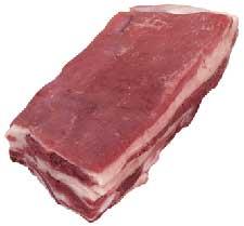 Fleisch Beinfleisch mit Knochen oder Platte mit
