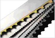Band-saws bimetallic for metal cutting