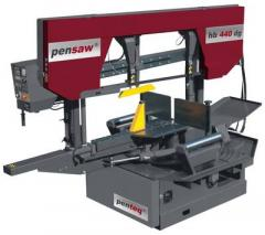 Band sawing machines for wood