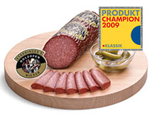 Holzofen Wiener Wurst