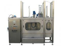 Vollautomatische KEG Außenreinigungsmaschine