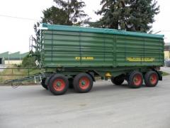 Anhänger 4-Achs-3 Seitenkipper