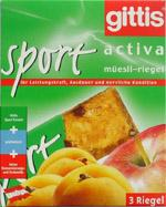 Gittis Activa Sport-Riegel