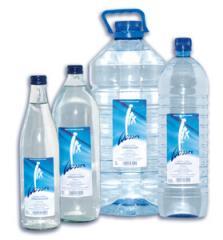 Irx-Wasser in Flaschen, Behältern, Bottles