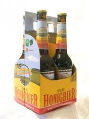 BIO Hochland Honigbier im 4er-Träger