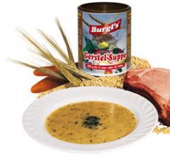 Burgl's vollmundige Gerstel - Suppe
