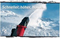 Honda Schneefräsen.