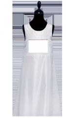 Kleid 100% Seidentaft Weiss