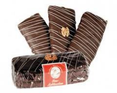 3er Lebkuchen mit Schokolade getunkt