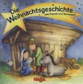 Buch Die Weihnachtsgeschichte zum Puzzeln und