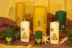 Weihnachtskerzen