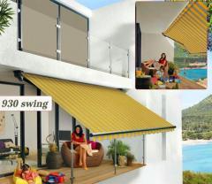 Offene Designmarkise 930 Swing