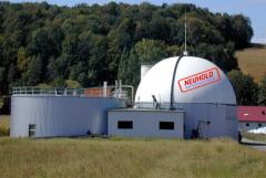 Plants for the production of biogas