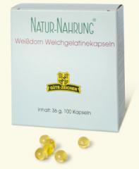 Arzneimittel Weißdorn Weichgelatinekapseln