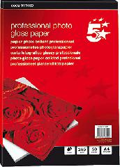Papier 5 Star PhotoGlossPaper DIN A4 glossy 265