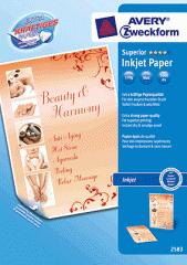 Papier Avery Zweckform Formatpapier Inkjet/2583