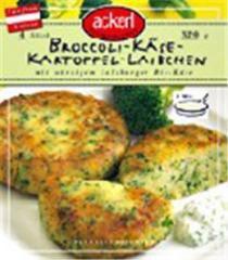 Broccoli-Käse- Kartoffellaibchen